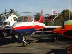 Hawker Hunter T.7, FAST, Farnborough.