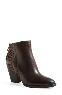 Free shipping and returns on Dolce Vita 'Harvie' Ankle Bootie (Women) (Nordstrom Exclusive) at Nordstrom.com. A standout ankle bootie flaunts a rustic, ranch-ready silhouette with a dose of urban flair, thanks to leather laces that wrap the rise and heel.