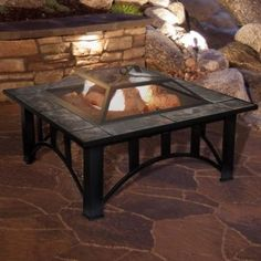 Pure Garden 33 Square Tile Fire Pit With Cover ..#from-by#_alicelittleshoponline it#211172282545729. issue regarding this listing , pls contact me - Pure Garden 33 Square Tile Fire Pit With Cover ..#from-by#_alicelittleshoponline it#211172282545729.