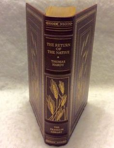 Franklin Library The Return of the Native Thomas Hardy 1980 full leather gold MT