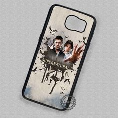 Film Supernatural Movie Logo - Samsung Galaxy S7 S6 S5 Note 7 Cases & Covers