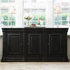 buffet made from base cabinets?