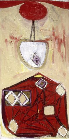'The Red Skirt' (1947) by Robert Motherwell