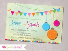 Engagement Invitations - by Youre Invited by Kaity