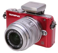 Olympus PEN E-PL3 12.3MP Digital Camera w/ 14-42mm Lens for $249.99 – EXP 7/22/2013