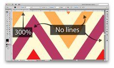 fixing lines in illustrator patterns via fashion classroom Adobe Illustrator Tutorials, Photoshop Illustrator, Online Tutorials, Art Tutorials, Graphic Design Tutorials, Graphic Design Inspiration, Vector Design, Web Design, Effects Photoshop