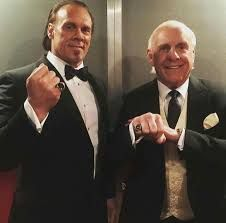 Image result for sting and ric flair