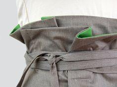 https://flic.kr/p/4vQskN | wrapped-green | stretch cotton w/ a slight sheen, green cotton lining