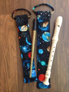 School Recorder Children/'s Musical Instrument With Plain Cotton Bag Music Gift