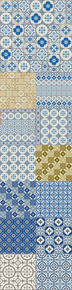 Gorgeous seamless pattern white Turkish Moroccan Portuguese tiles Azulejo Arabic ornament