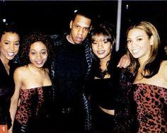 Jay Z & Destiny's Child back in tha days..