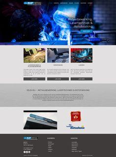Het vernieuwde website ontwerp van Jeldi Metaal is goedgekeurd door de klant. Website