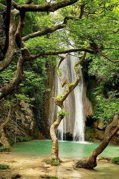 Neda Waterfalls, Peloponnese, Greece