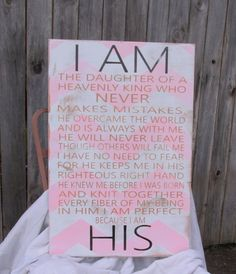 Hey, I found this really awesome Etsy listing at https://www.etsy.com/listing/158113359/i-am-his-originally-written-sign-for