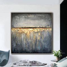 Large Original Abstract Oil Painting Modern Wall Art Contemporary Wall Decor   GOLD RAIN Modern Paintings, Your Paintings, Original Paintings, Contemporary Wall Decor, Modern Wall Art, Oil Painting Abstract, Custom Art, Canvas Wall Art, Shades