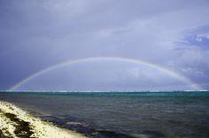 Beautiful rainbow over the East End - Cayman Islands Grand Cayman, Cayman Islands, Niagara Falls, Rainbow, Nature, Travel, Beautiful, Rain Bow, Rainbows