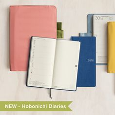 We're very excited to announce that we now offer Hobonichi Techo 2018 planners!! These Japanese planners are re-designed, refined and updated each year to reflect the demands of users worldwide. Come check them out for yourself and find out why this brand has such a cult following.