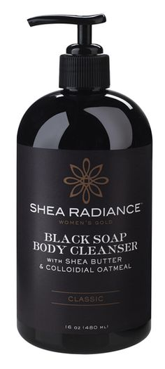 We've combined the purifying benefits of traditional African Black Soap with the healing properties of colloidal oatmeal to create a creamy, all-natural body wash that works miracles on the skin. Available for $18 on shearadiance.com
