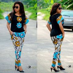 Ankara styles 606367537316500631 - 2019 Ankara Trouser and Top Styles for Ladies – Source by Couples African Outfits, African Wear Dresses, African Fashion Ankara, Latest African Fashion Dresses, African Print Fashion, African Attire, Ankara Styles For Women, Beautiful Ankara Styles, Ankara Gown Styles