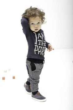 Tumble `n dry feest collectie 2014 // toddlers party collection boys outfit I am the party tekst