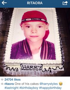 Harry Styles' 21st birthday party