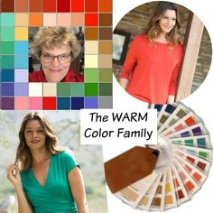 Warm coloring - Personal Color Analysis online - questionnaire and a few photos and in 4-5 days you have a new world of color!  #color analysis