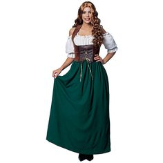 Renaissance Costumes For Women ($45) ❤ liked on Polyvore featuring costumes, halloween costumes, multicolor, womens renaissance costumes, womens green lantern costume, renaissance halloween costumes, womens halloween costumes and wig costumes