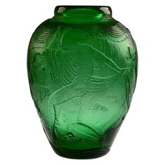 Exceptional Daum Nancy Acid Etched Art Deco Vase   From a unique collection of antique and modern vases at https://www.1stdibs.com/furniture/dining-entertaining/vases/