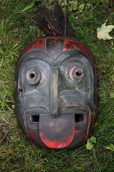 Northwest Shaman's Mask - http://cabinetofcuriosities.ca/shop/indigenous-peoples/shamans-mask/
