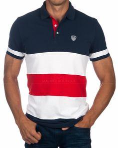 Polo Rugby Shirt, Polo T Shirts, Jean Shirts, Boys Shirts, Polo T Shirt Design, Polo Design, Camisa Polo, Smart Casual Polo Shirt, Men's Fashion