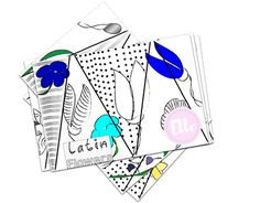 Latin Flowers Layered Lift The Flap Colouring Book Inspired By Kew Gardens And Is Ideally