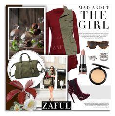 """11. www.zaful.com/?lkid=8081"" by melissa-de-souza ❤ liked on Polyvore featuring Kershaw, J Brand, CÉLINE, Pop Beauty, Forever 21, MAC Cosmetics, women's clothing, women's fashion, women and female"