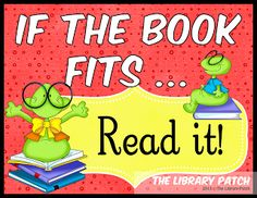 """Check out this unique twist on the """"Just Right"""" book lesson. The Library Patch's blog post outlines a brand new PICK acronym ... Purpose, Interest, Comfort, and Keeper. Just like picking a new pair of shoes."""