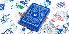 Facebook's NEW Deck of Playing Cards With Marketing Insights for Agencies via The Dieline http://ift.tt/1TB8hYt