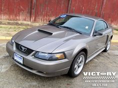 2002 Ford Mustang GT... Torque Thrust-Style Factory Wheels, K and N Filter Kit and a MEAN Exhaust Growl!