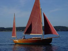 "DoryMan: Bill Garden Canoe Yawl ""Eel"""