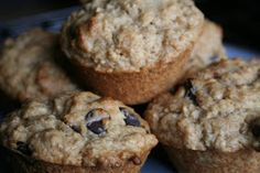 Mama Gone Green: Oatmeal Chocolate Chip Muffins