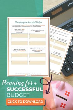 You will be rocking your successful budget in no time! Get your Planning a Successful Budget Worksheet now! Savings Planner, Budget Planner, Budgeting Finances, Budgeting Tips, Ways To Save Money, Money Tips, Financial Apps, Piercings, Paying Off Student Loans