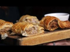 Homemade stout sausage roll ft. The Food Busker | The Craft Beer Channel - YouTube
