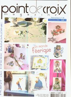 """ru / Orlanda - Album """"№ Cross Stitch Magazines, Cross Stitch Books, Cross Stitch Embroidery, Cross Stitch Patterns, Cross Stitch Collection, Le Point, Crochet For Kids, Book Crafts, Love Is Sweet"""