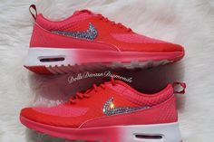 Women's Nike Air Max Thea w/ Swarovski by DOLLSDIVASNDIAMONDS