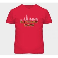 Blackhawk Nation Chi Town Chicago Hockey Toews Hossa Kane T Shirt