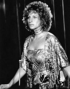"""Barbra Streisand en """"Ha nacido una estrella"""", 1976"""