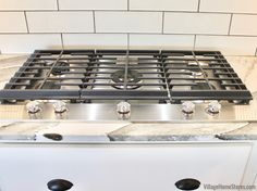 KitchenAid 5-Burner Gas Cooktop- Appliances by Village Home Stores-New Build Farmhouse Rural Illinois - Village Home Stores Blog At Home Store, Kitchenaid, New Builds, Illinois, Building A House, New Homes, Farmhouse, Kitchen Appliances, Blog