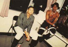 2Pac & Queen Latifah (from the 1990/1991 Digital Underground & Queen Latifah tour)