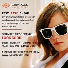 Eyewear Brands, Brickell Miami, Marketing Program, Prescription Sunglasses, Of Brand, Florida, Range, How To Make, Top