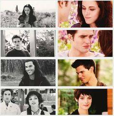 Bella Edward jocab Alice and Jasper