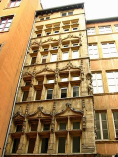 Facade, Old Lyon, France