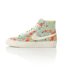 Me Wanty... Limited 'Tatum' Print Blazer Mid Dunk Trainers For Liberty/Nike Collection 2011