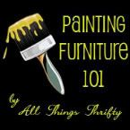 Painting Furniture 101 (reviving old furniture using spray paint!)